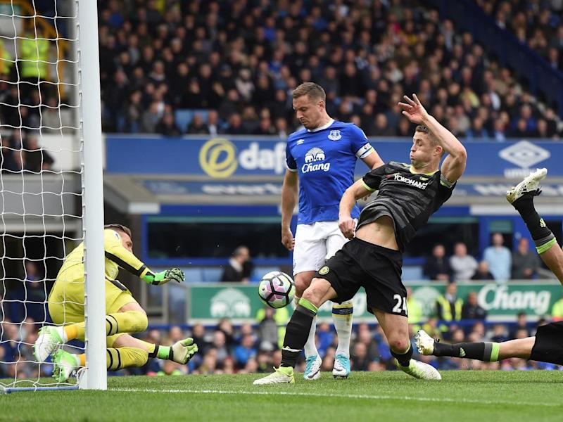 Skipper Cahill added a second (Getty)