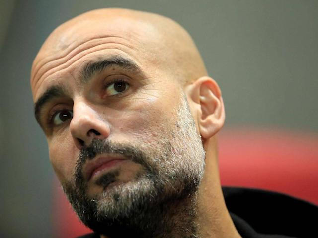 Guardiola decided against naming a full bench (Getty)