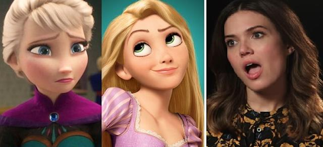 Mandy Moore dismisses Frozen-Tangled fan theory