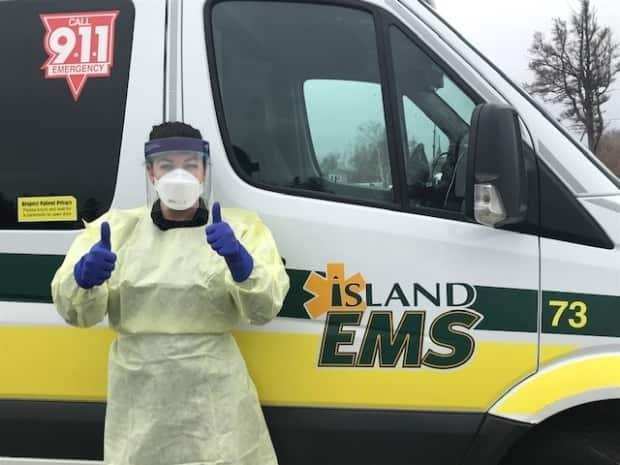 Throughout this pandemic, paramedics have played a critical role in supporting our COVID-19 response on Prince Edward Island, says Premier Dennis King.   (Island EMS - image credit)