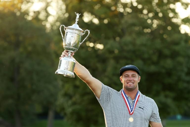 Bryson DeChambeau won his maiden major title at the US Open