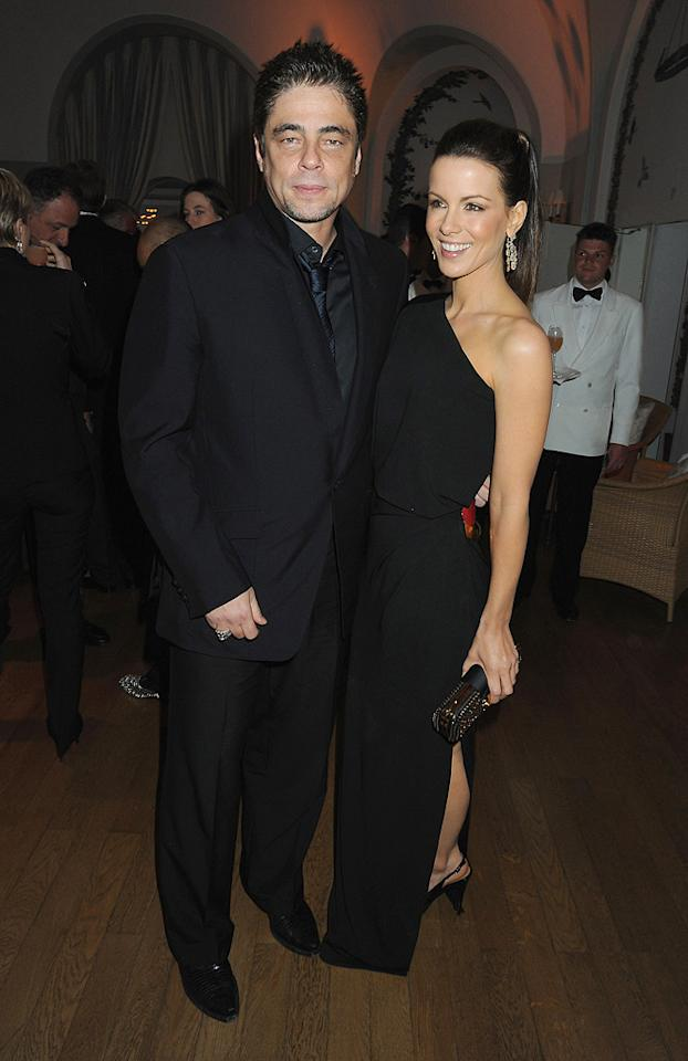 "<a href=""http://movies.yahoo.com/movie/contributor/1800036421"">Benicio Del Toro</a> and <a href=""http://movies.yahoo.com/movie/contributor/1800020790"">Kate Beckinsale</a> attend the Vanity Fair and Gucci Party Honoring Martin Scorsese during the 63rd Annual Cannes Film Festival at the Hotel Du Cap Eden Roc on May 15, 2010 in Cannes, France."