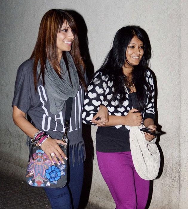 Meet Bipasha's sister Bijoyeta. They were spotted together on their way to watch a movie.