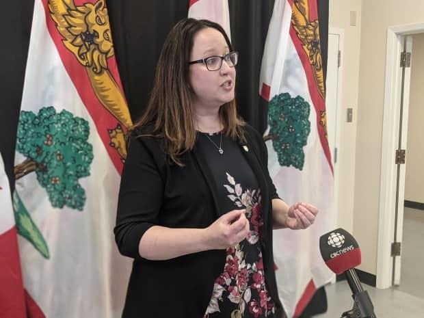 Opposition health critic Trish Altass says the P.E.I. government has written a 'blank cheque' for Medavie Health Services by announcing the company will manage the province's mobile mental health response service before signing a contract with the company.