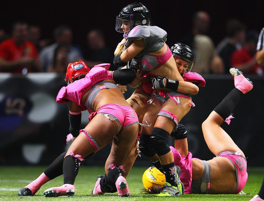 Lingerie Bowl IX-  4 to 5:30 EST – MTV 2   ark Kolbe/Getty Images)