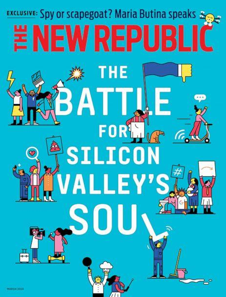 PHOTO: James Bamford's 'The Spy Who Wasn't' appears in this month's issue of The New Republic. (The New Republic)