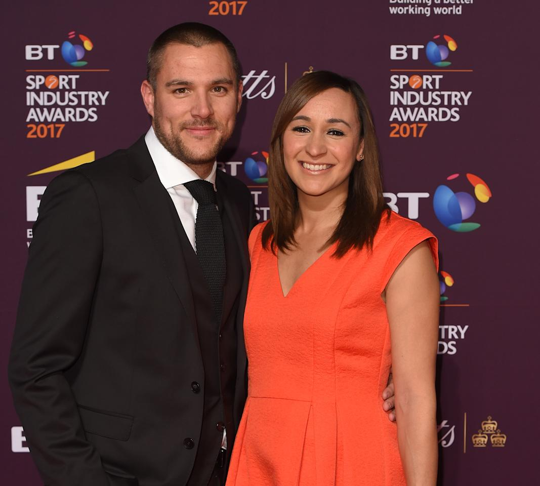 <p>Olympian Jessica Ennis-Hill and husband Andy Hill gave birth to their second child on 23 September, naming their newborn daughter Olivia.<br /><i>[Photo: Getty]</i> </p>