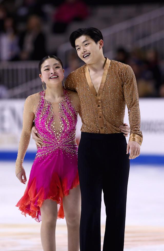 <p>The Shibutani siblings, Maia and Alex, are the first Asian-American ice dancers to win an Olympic medal, and are three-time World medalists and two-time U.S. national champions. They won bronze medals with Team USA's third place finish in the team figure skating event at the 2018 Winter Olympics.<br>(Photo by Ezra Shaw/Getty Images) </p>