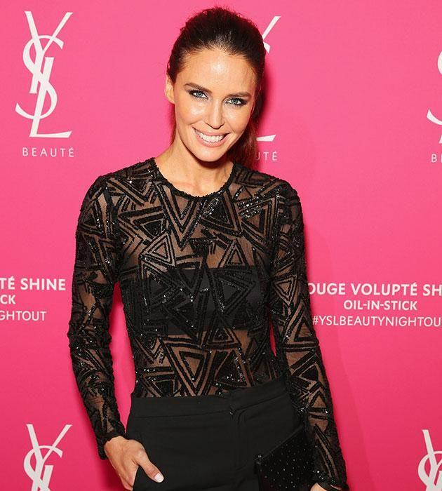 Jodi Anasta was once caught in a drug scandal with Mark. Source: Getty