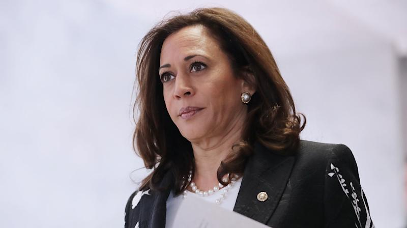 Kamala Harris Wants Us To 'Speak The Truth' About Kneeling Protests