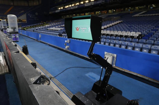 Solid start: The Video Assistant Referee has been back by former referee Keith Hackett