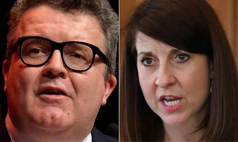Labour MPs Tom Watson and Liz Kendall