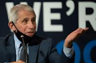 """The idea that we have a 94.5 percent effective vaccine is stunningly impressive,"" Anthony Fauci, director of the National Institutes of Allergies and Infectious Diseases, which co-developed the vaccine, told AFP"