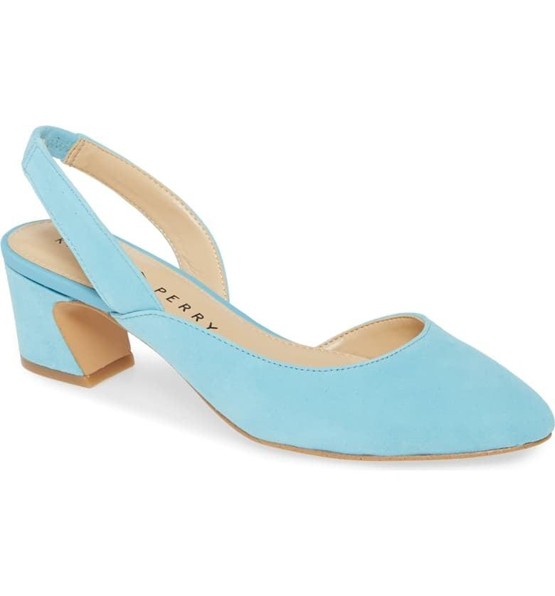 """<p>These pretty <a href=""""https://www.popsugar.com/buy/Katy-Perry-Phez-Half-dOrsay-Pumps-538669?p_name=Katy%20Perry%20Phez%20Half%20d%27Orsay%20Pumps&retailer=shop.nordstrom.com&pid=538669&price=89&evar1=fab%3Aus&evar9=47089187&evar98=https%3A%2F%2Fwww.popsugar.com%2Fphoto-gallery%2F47089187%2Fimage%2F47089469%2FKaty-Perry-Phez-Half-dOrsay-Pumps&list1=shopping%2Cnordstrom%2Cwinter%20fashion&prop13=api&pdata=1"""" rel=""""nofollow"""" data-shoppable-link=""""1"""" target=""""_blank"""" class=""""ga-track"""" data-ga-category=""""Related"""" data-ga-label=""""https://shop.nordstrom.com/s/katy-perry-phez-half-dorsay-pump-women/5452601/full?origin=category-personalizedsort&amp;breadcrumb=Home%2FWomen%2FNew%20Arrivals&amp;color=pop%20blue%20suede"""" data-ga-action=""""In-Line Links"""">Katy Perry Phez Half d'Orsay Pumps</a> ($89) are easy to stand in all day.</p>"""