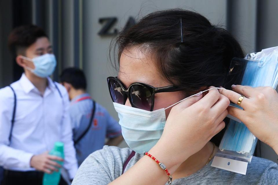 Domestic Trade and Consumer Affairs Minister Datuk Alexander Nanta Linggi said that the current stock of face masks is sufficient, and production has been increased to meet demand. — Picture by Choo Choy May