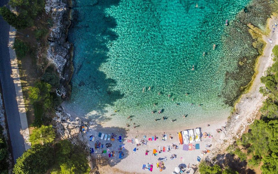 Istria's beaches are as enticing as any in the country - Getty