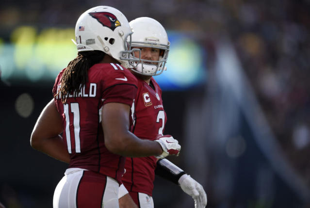 Carson Palmer and Larry Fitzgerald, Arizona Cardinals