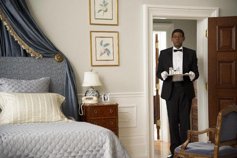 "This film image released by The Weinstein Company shows Forest Whitaker as Cecil Gaines in a scene from ""Lee Daniels' The Butler."" (AP Photo/The Weinstein Company, Anne Marie Fox)"
