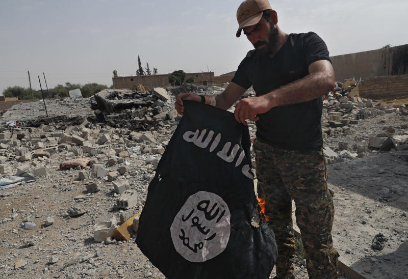 "Q&A: The end of the Islamic State group's ""caliphate"""