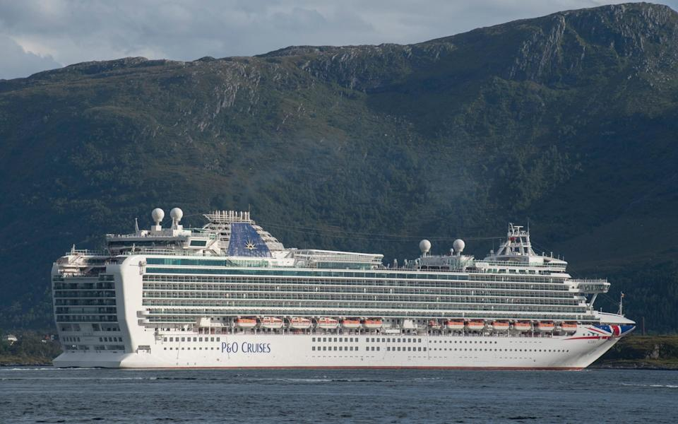 P&O Cruises has cancelled sailings until at least April