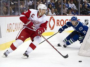 """Detroit GM Ken Holland says Lidstrom has """"defied Father Time"""" and there's been almost no drop-off in his play"""