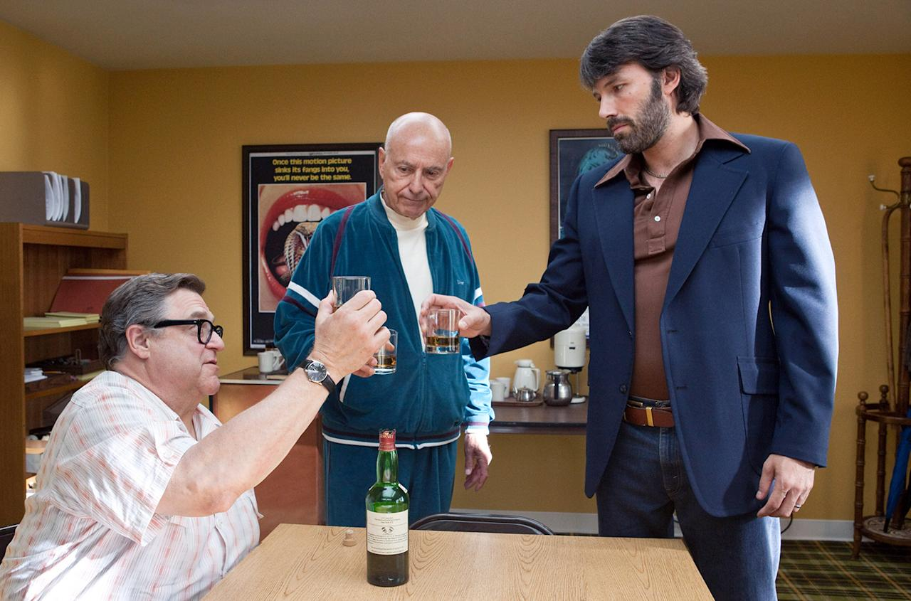 Best Picture: Argo Ben Affleck's seventies political thriller has blazed through all the awards shows and Hollywood guild honors. The best director snub by the Academy has only cemented the movie's frontrunner position for best picture.