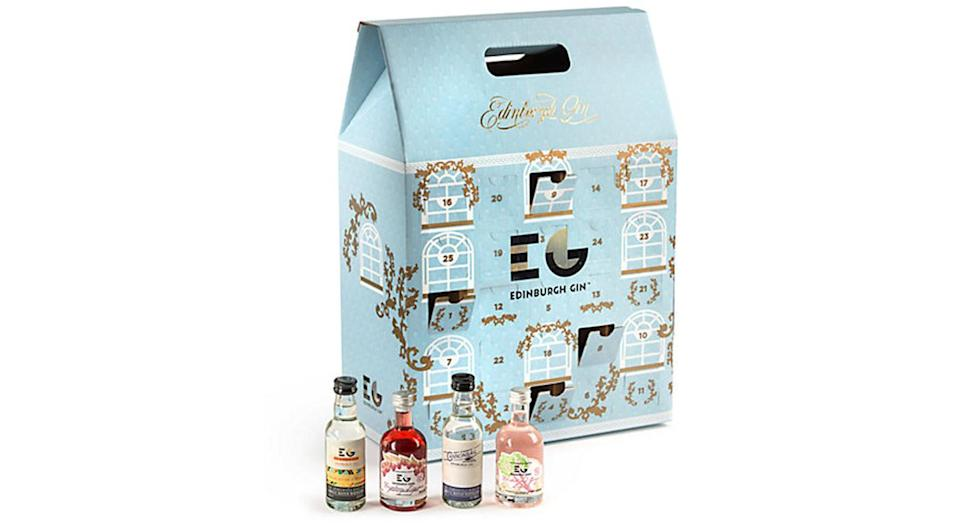"""<p>Christmas is a time to be merry, which might be rather easy if you're knocking back a mini bottle of gin every day in December. <a href=""""https://www.johnlewis.com/edinburgh-gin-advent-calendar-5cl-pack-of-25/p3261403"""" rel=""""nofollow noopener"""" target=""""_blank"""" data-ylk=""""slk:John Lewis, £100"""" class=""""link rapid-noclick-resp""""><em>John Lewis, £100</em></a> </p>"""