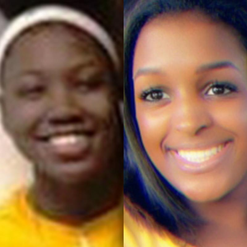 Samara Cooks (left) and Deleigha Gibson (right) died on July 29, 2019, after the car they were in crashed into a utility pole in Escambia County, Florida.