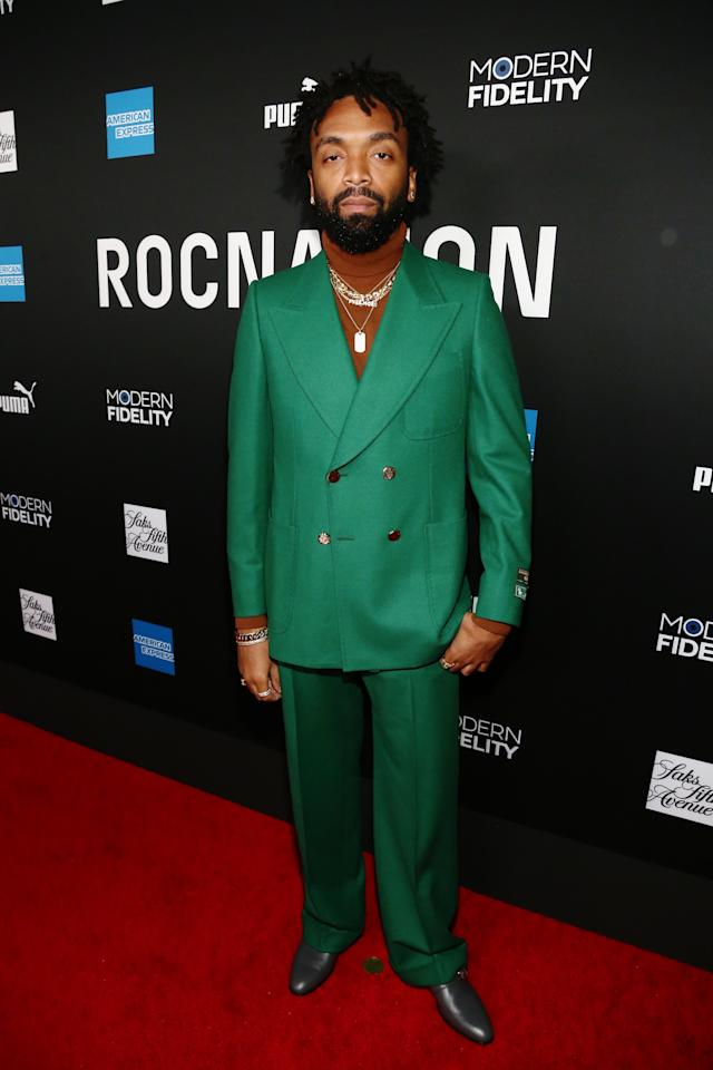 <p>WHERE: Roc Nation's Grammys brunch in Los Angeles</p> <p>WHEN: January 25, 2020</p> <p>WHY: The best ridiculously bright suit at Jay-Z's annual brunch.</p>