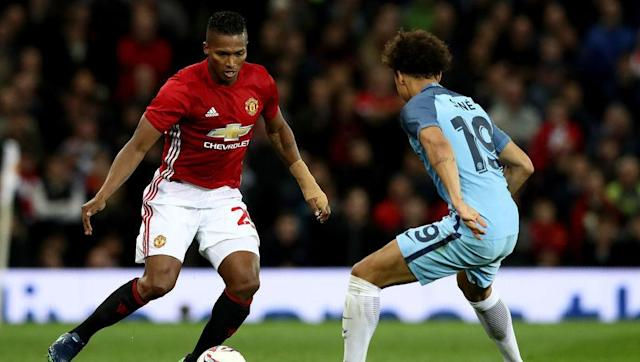 <p>Antonio Valencia was also preserved at the weekend against Burnley, and like Rashford, will likely come back into the side for the trip to the Etihad.</p> <br><p>Valencia has arguably been one of the best right-backs in the league this season and can perhaps count himself unlucky not to have gained a place in the PFA's Team of the Season.</p> <br><p>It should be a fascinating battle between him and Leroy Sane, who recently gained himself a Young Player of the Year nomination.</p> <br><p>Guardiola has started Sane in each of City's last 11 Premier League matches and it's clear the Spaniard sees him as a refreshing talent as do the majority of neutrals.</p> <br><p>The German is extremely direct and has frighteningly quick feet, meaning Valencia will have to bring his A-game.</p> <br><p>The Ecuadorian is of course known for his own marauding runs down the United right, which means a bit of back-tracking might be in order for Sane. Blink and you'll miss it. </p>