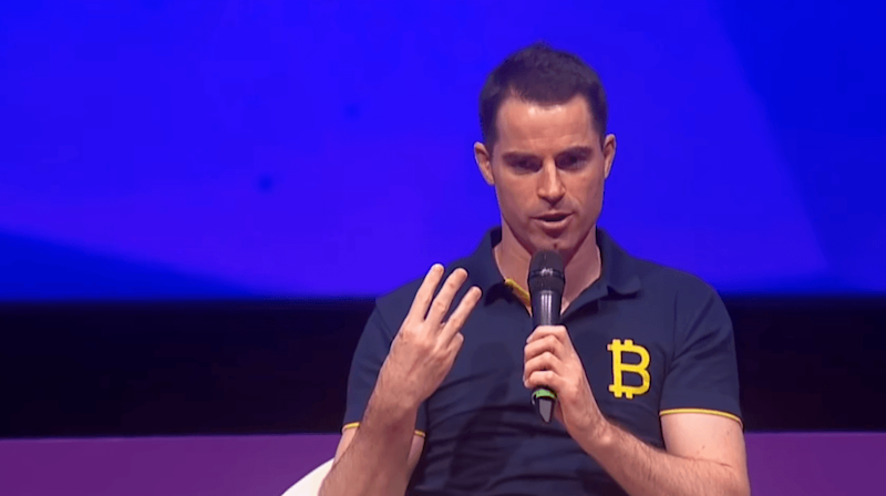 Bitcoin Cash proponent Roger Ver makes his attempt at trolling Donald Trump following the US president's tweet tirade. | Source: YouTube/Bitcoin.com