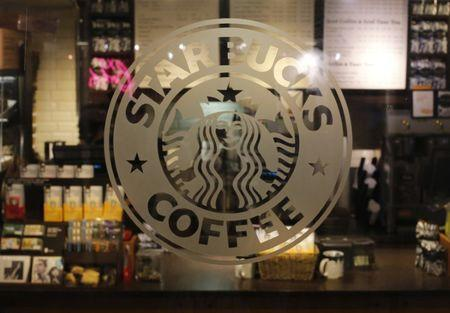 A Starbucks coffee shop in New York