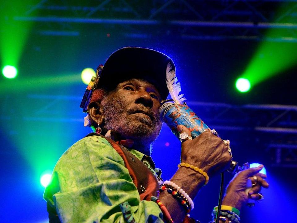 Lee 'Scratch' Perry, who has died at the age of 85, pictured in 2016 (Roger T Smith/Shutterstock)
