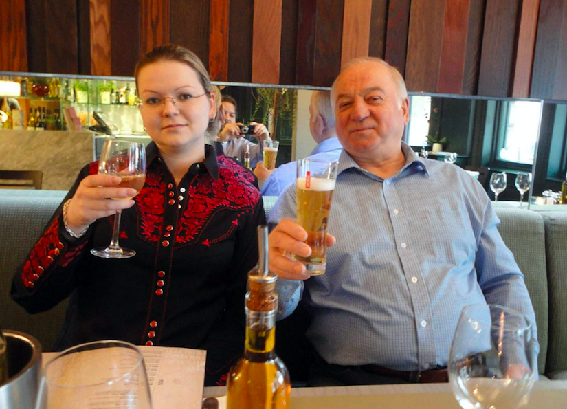 <em>A high-ranking Russian official claims Sergei and Yulia Skripal may be dead (Rex)</em>