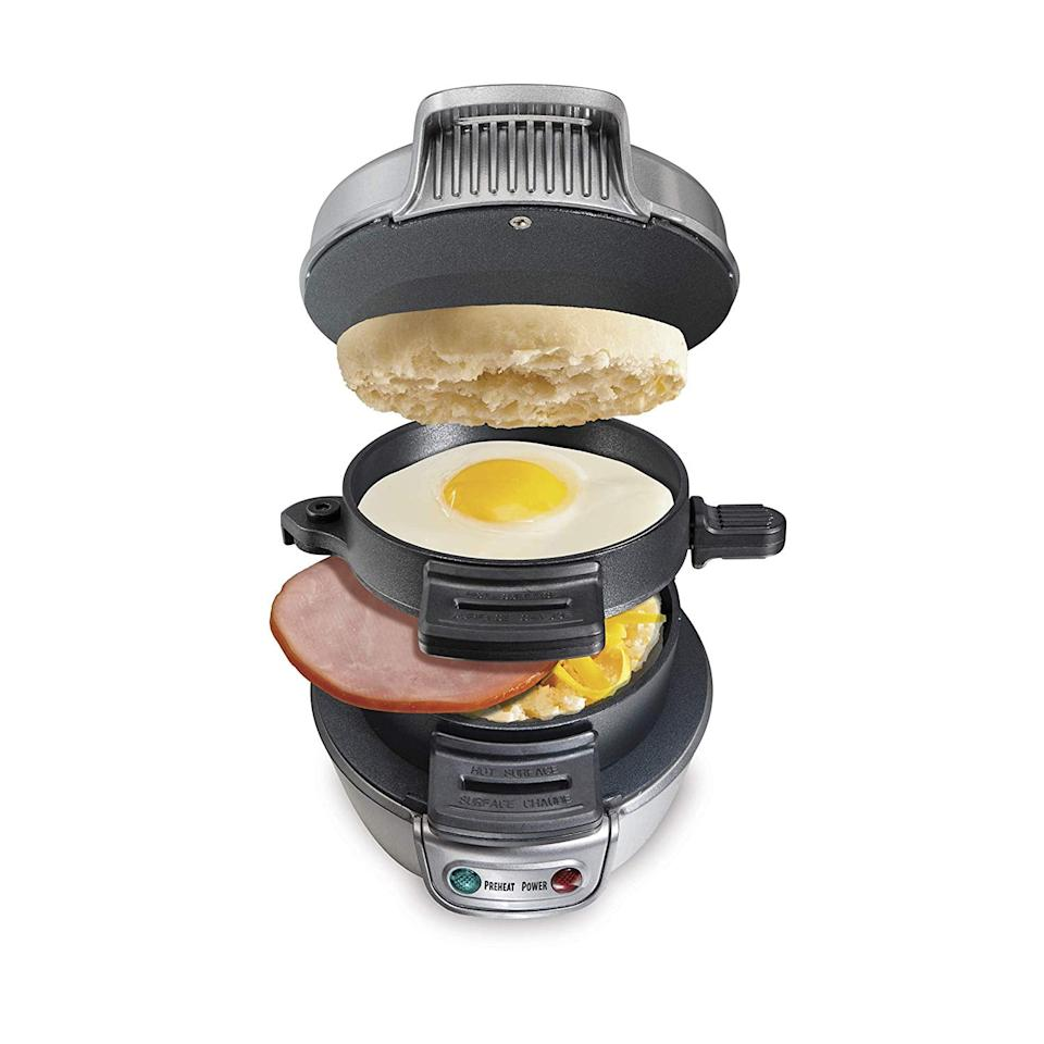 "<p>Breakfast time will be easier than ever with this <a href=""https://www.popsugar.com/buy/Hamilton-Beach-Sandwich-Maker-539577?p_name=Hamilton%20Beach%20Sandwich%20Maker&retailer=amazon.com&pid=539577&price=25&evar1=yum%3Aus&evar9=45643003&evar98=https%3A%2F%2Fwww.popsugar.com%2Ffood%2Fphoto-gallery%2F45643003%2Fimage%2F47102733%2FHamilton-Beach-Breakfast-Sandwich-Maker&list1=gadgets%2Ckitchen%20accessories%2Chome%20shopping&prop13=api&pdata=1"" rel=""nofollow"" data-shoppable-link=""1"" target=""_blank"" class=""ga-track"" data-ga-category=""Related"" data-ga-label=""https://www.amazon.com/Hamilton-Beach-25475A-Breakfast-Sandwich/dp/B00EI7DPOO/ref=sr_1_30?keywords=kitchen+gadgets&amp;qid=1578952991&amp;sr=8-30"" data-ga-action=""In-Line Links"">Hamilton Beach Sandwich Maker</a> ($25).</p>"