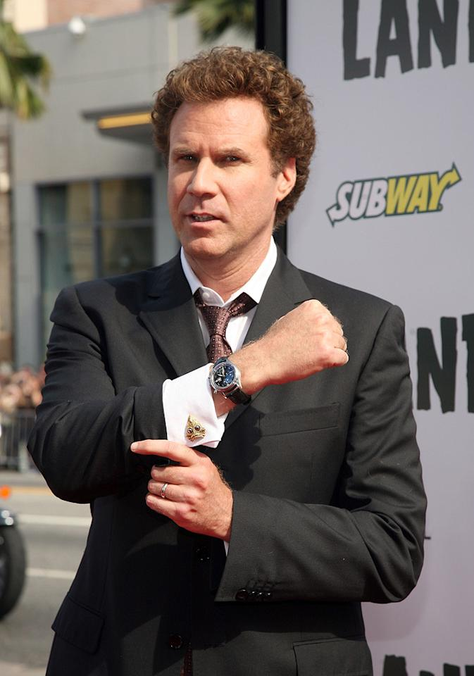 "<a href=""http://movies.yahoo.com/movie/contributor/1800019430"">Will Ferrell</a> at the Los Angeles premiere of <a href=""http://movies.yahoo.com/movie/1809953162/info"">Land of the Lost</a> - 05/30/2009"