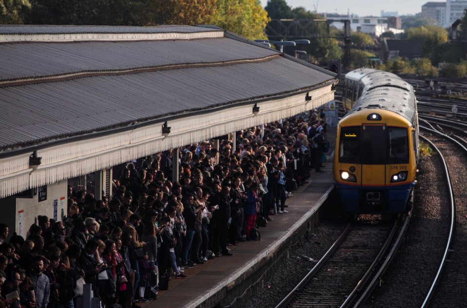 <em>A number of lines serving London's major stations and airports will be blocked (Getty)</em>