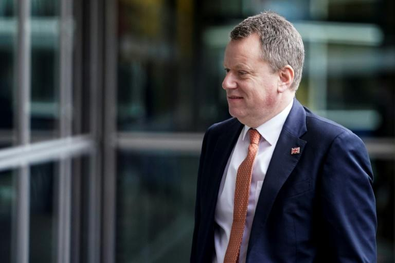 British Brexit negotiator David Frost and Johnson say they only want a simple trade deal that would preserve UK sovereignty while allowing the vast majority of trade to remain tariff free (AFP Photo/Kenzo TRIBOUILLARD)