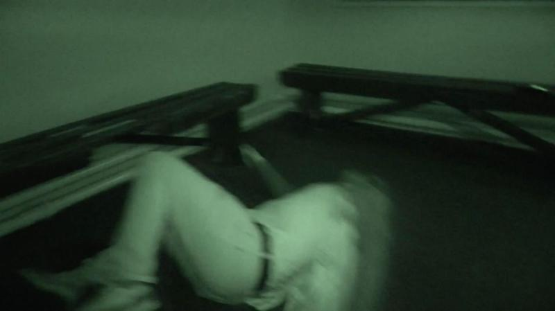 Sean claims he was thrown to the ground by the entity. Photo: Caters News