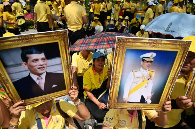 The three-day coronation is the first since Vajiralongkorn's adored father was crowned in 1950