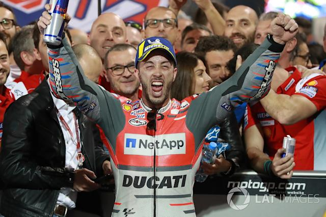 "Ganador, Andrea Dovizioso, Ducati Team <span class=""copyright"">Gold and Goose / LAT Images</span>"
