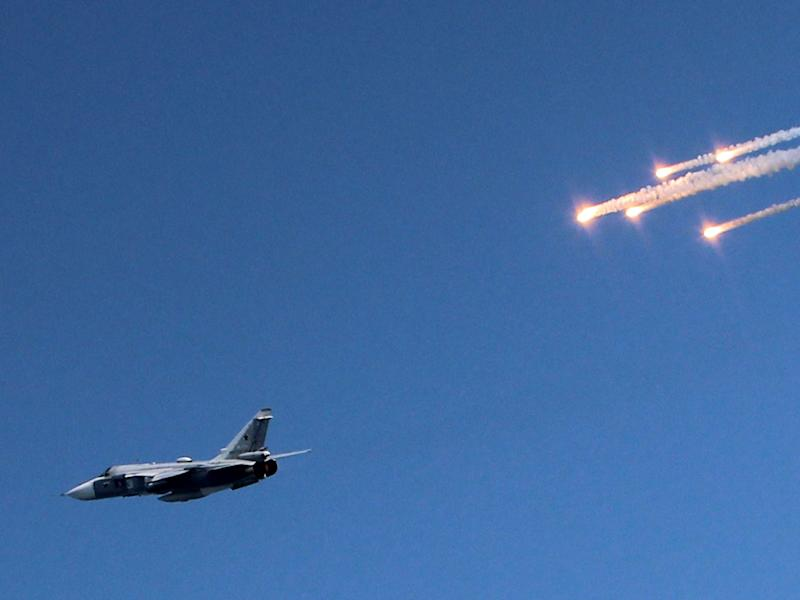 Two Russian fighter jets were intercepted off the coast of Alaska: YURI LASHOV/AFP/Getty Images