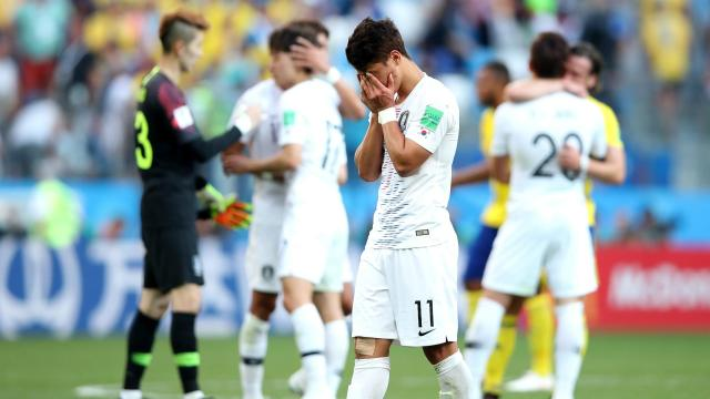 Shin Tae-yong repeatedly pointed to an apparent disadvantage in terms of height as he assessed his side's defeat in their World Cup opener