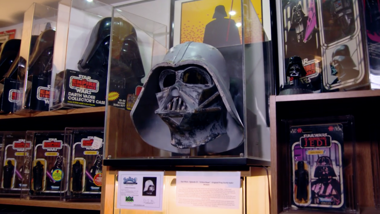 A Star Wars collector's dream