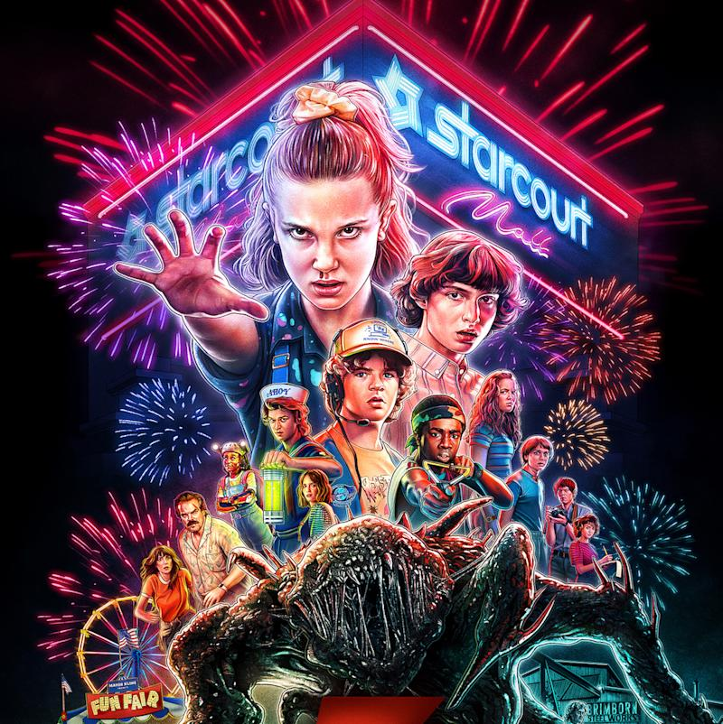Season 3 of 'Stranger Things' premiered on Netflix on July 4, 2019. — Picture courtesy of Netflix