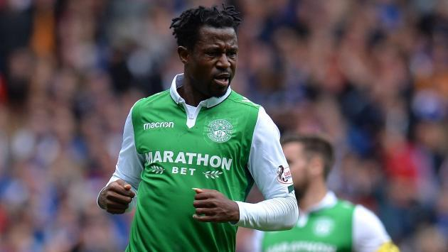 <p>Efe Ambrose praises Hibernian's 'fighting spirit' in win at Partick Thistle</p>
