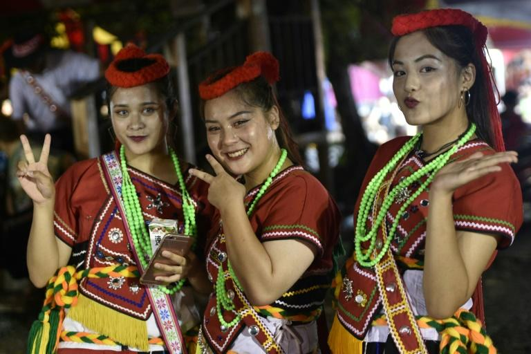 The harvest festival in Matai'an, Taiwan, culminates with single women taking their pick of eligible bachelors