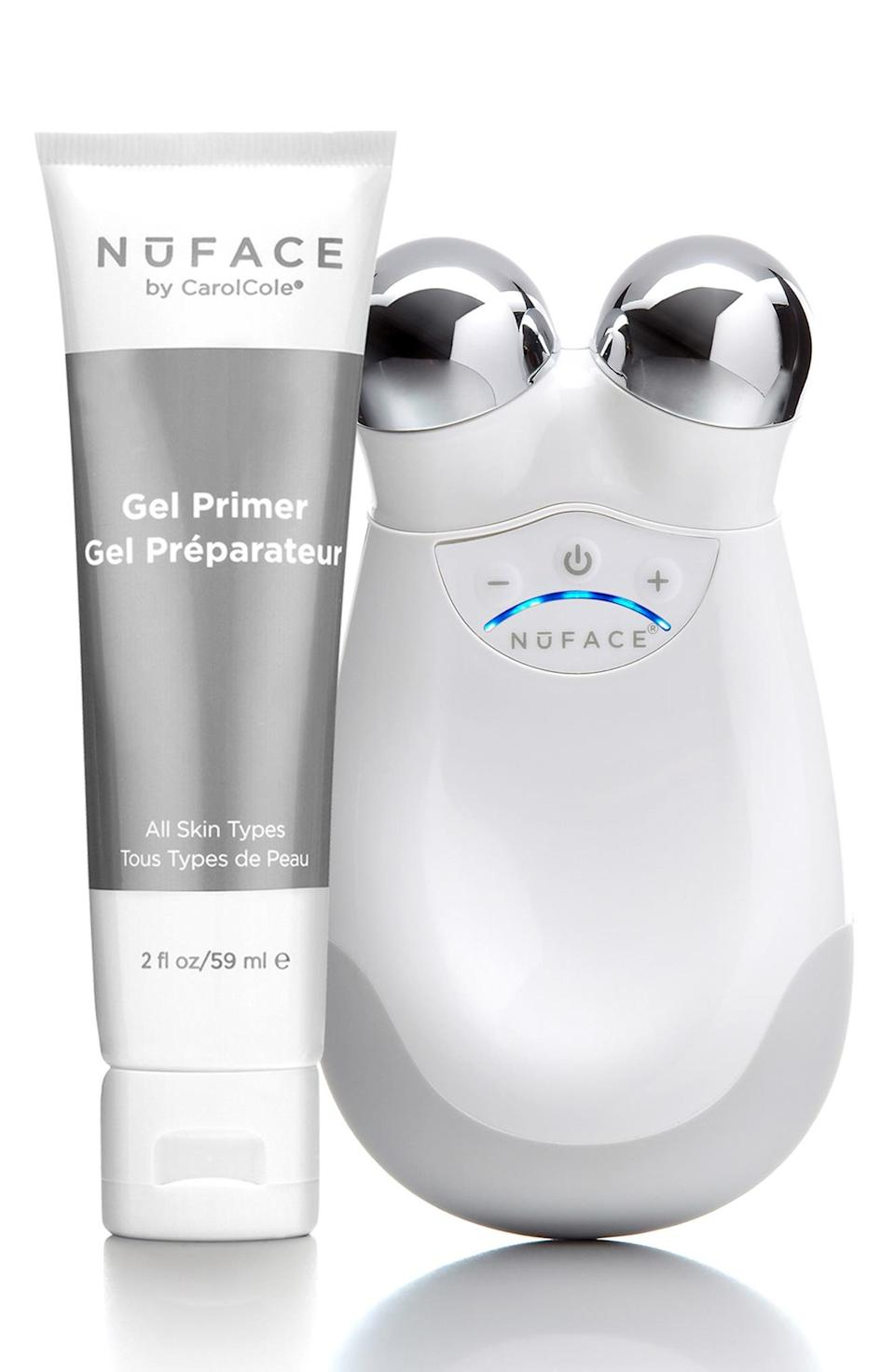The celebrity-approved NuFace Trinity Facial Toning Device is on sale at Nordstrom for 25% off.