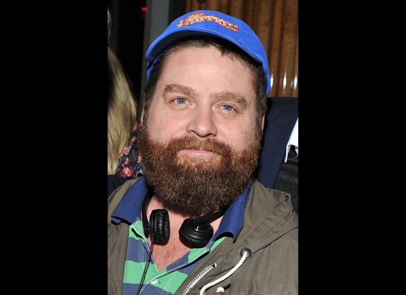 Zach Galifianakis attends the after party for the Cinema Society & Bing screening of 'The Hangover Part II' at The Top of The Standard on May 23, 2011 in New York City. (Photo by Stephen Lovekin/Getty Images)