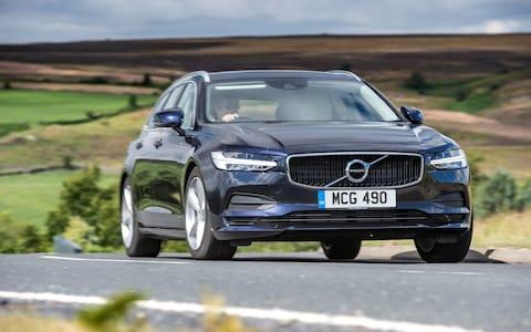 The Volvo V90, one of the affected models - Credit: Volvo